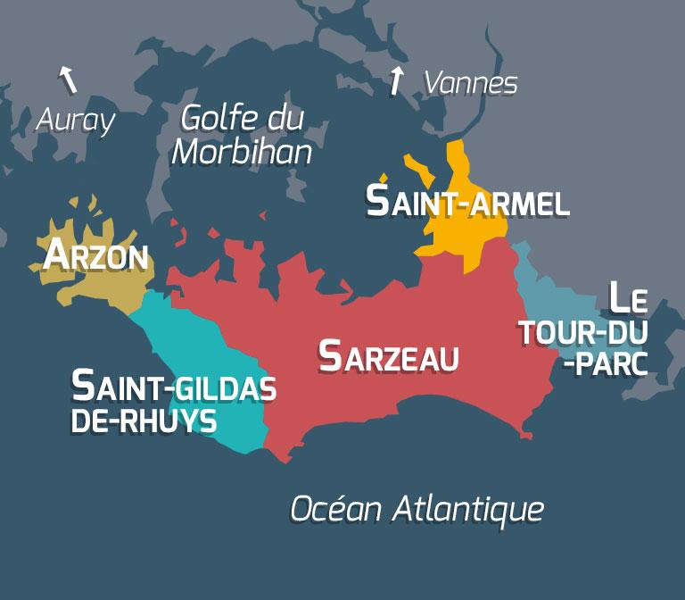 Maison vacances Saint Gildas de Rhuys Location 6 personnes Olivier