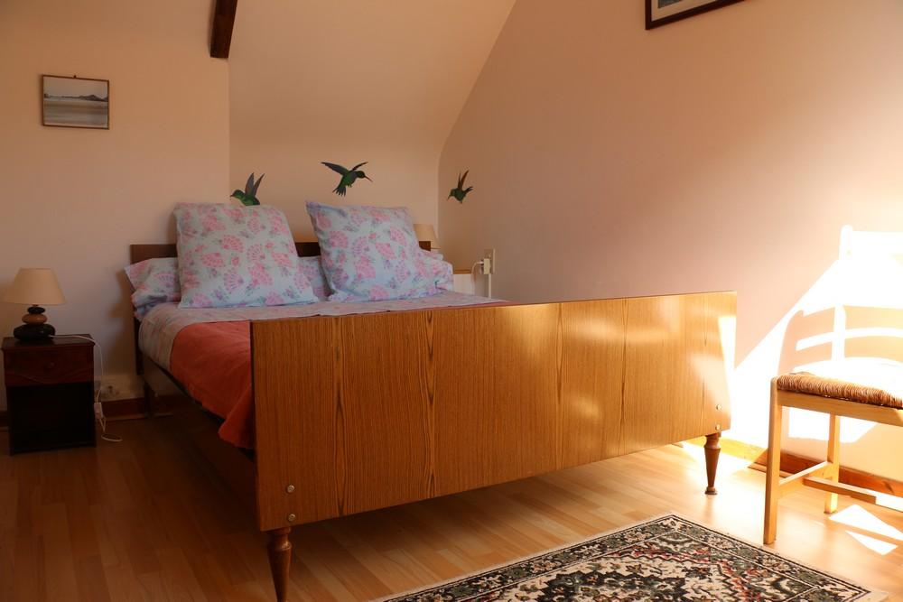 Maison vacances pontrieux location 4 personnes jacques noel for Chambre 8m2 lit double
