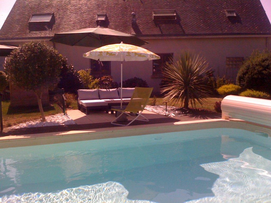 Maison vacances avec piscine belz location 4 personnes for Residence vacances france avec piscine